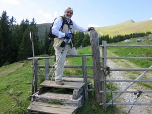 Freizeitvergnügen im Sommer: Wandern