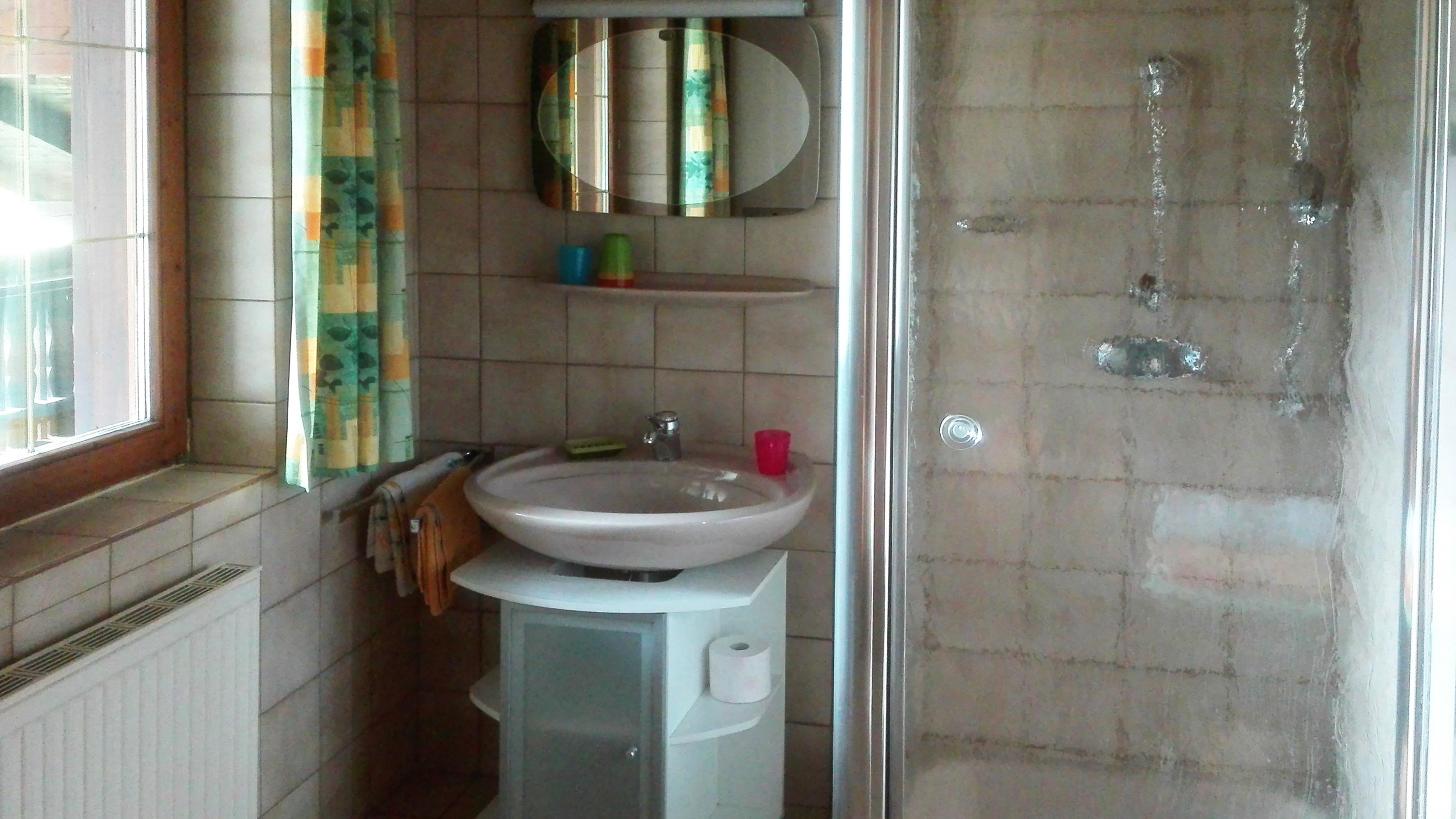 Appartement Badezimmer Ostseite