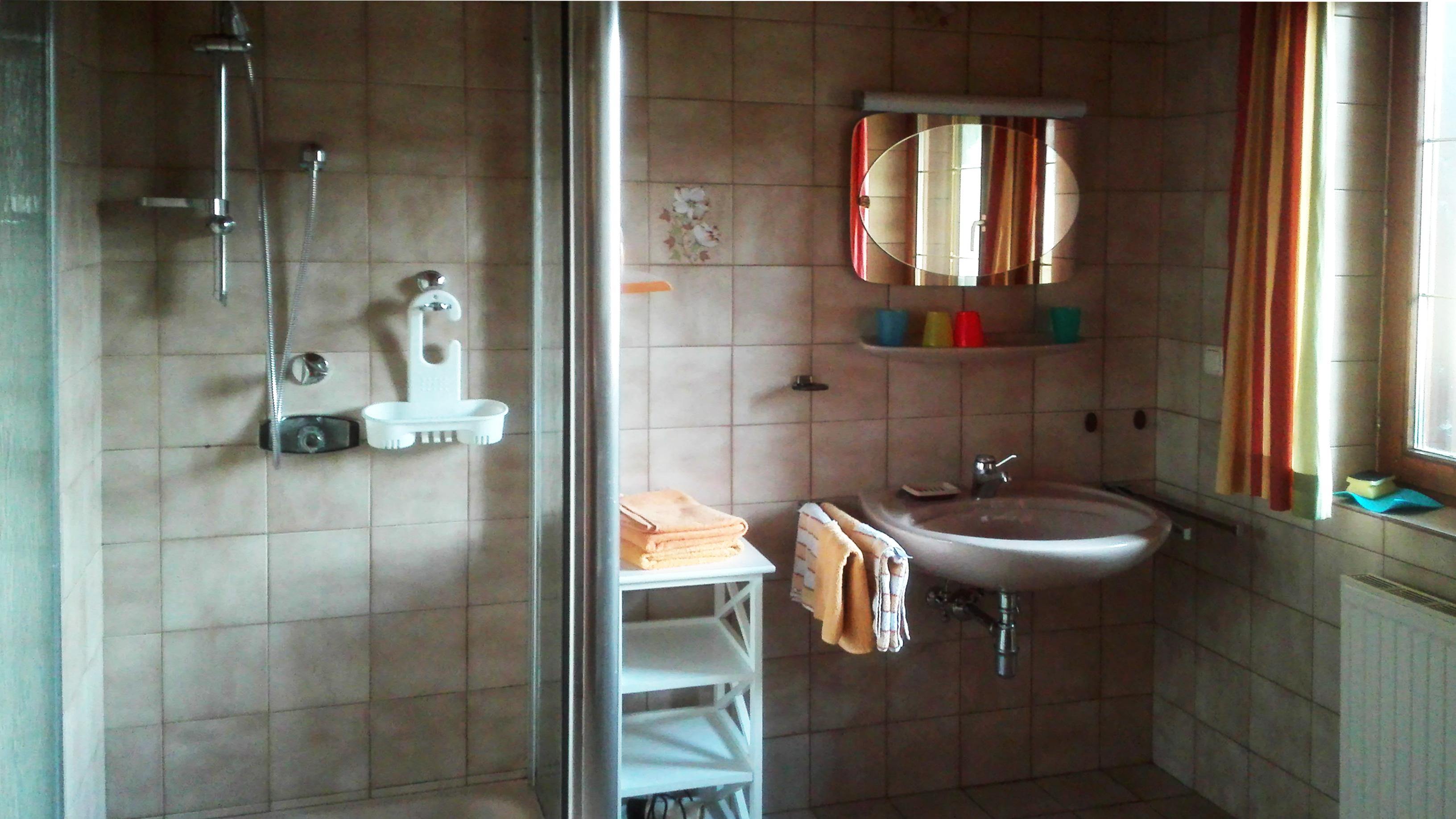 Appartement Badezimmer Westseite