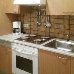 Appartement Küche Ostseite