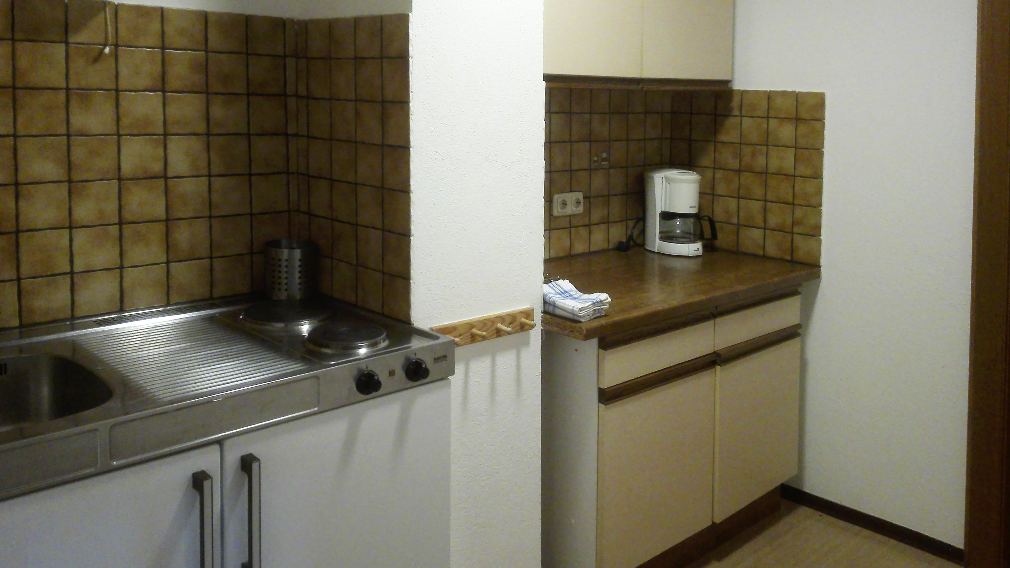 Appartement Küche Westseite