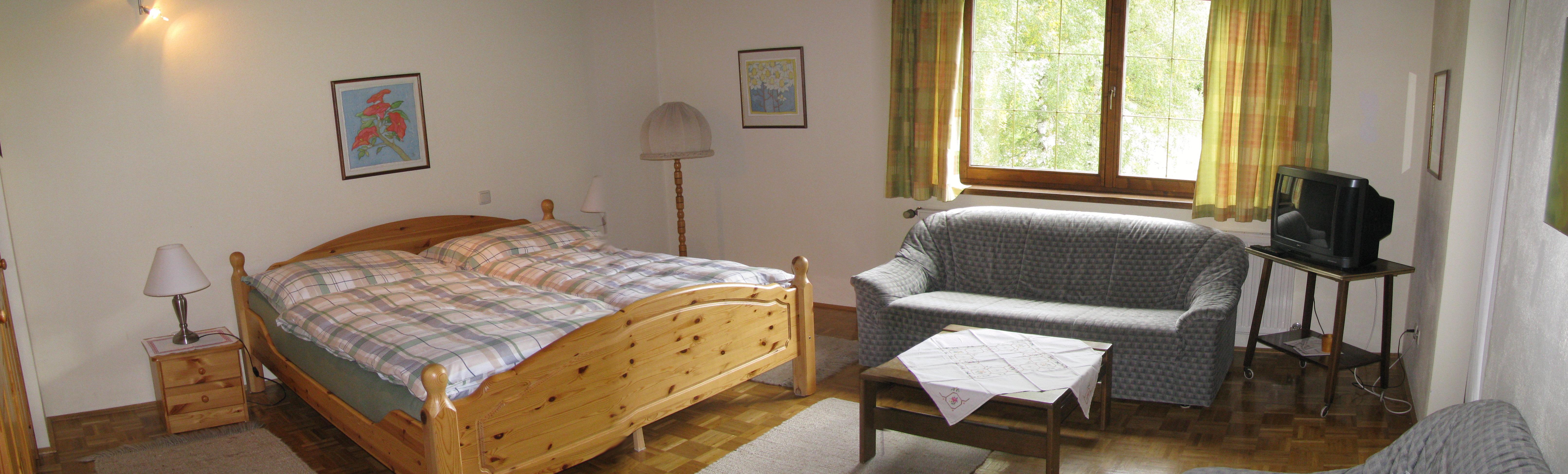 Appartement Wohnraum Ostseite